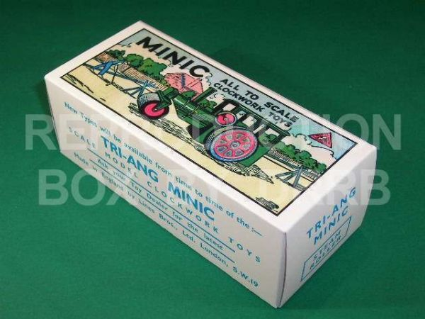 Minic #33M Steam Roller - Reproduction Box